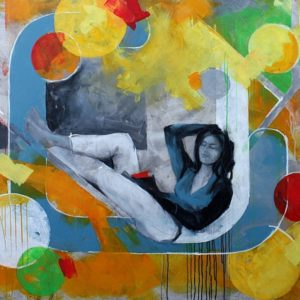 Acryl Gemälde Großformat