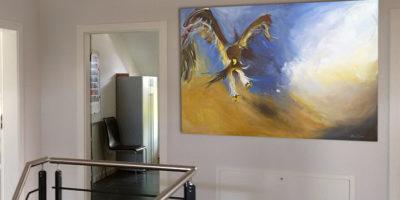 Kunst für Büro und Kanzlei mit Wunschmotiv