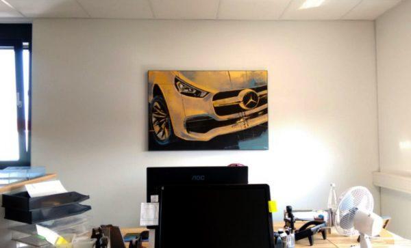 Bilderreihe mit Automotiven  für's Büro
