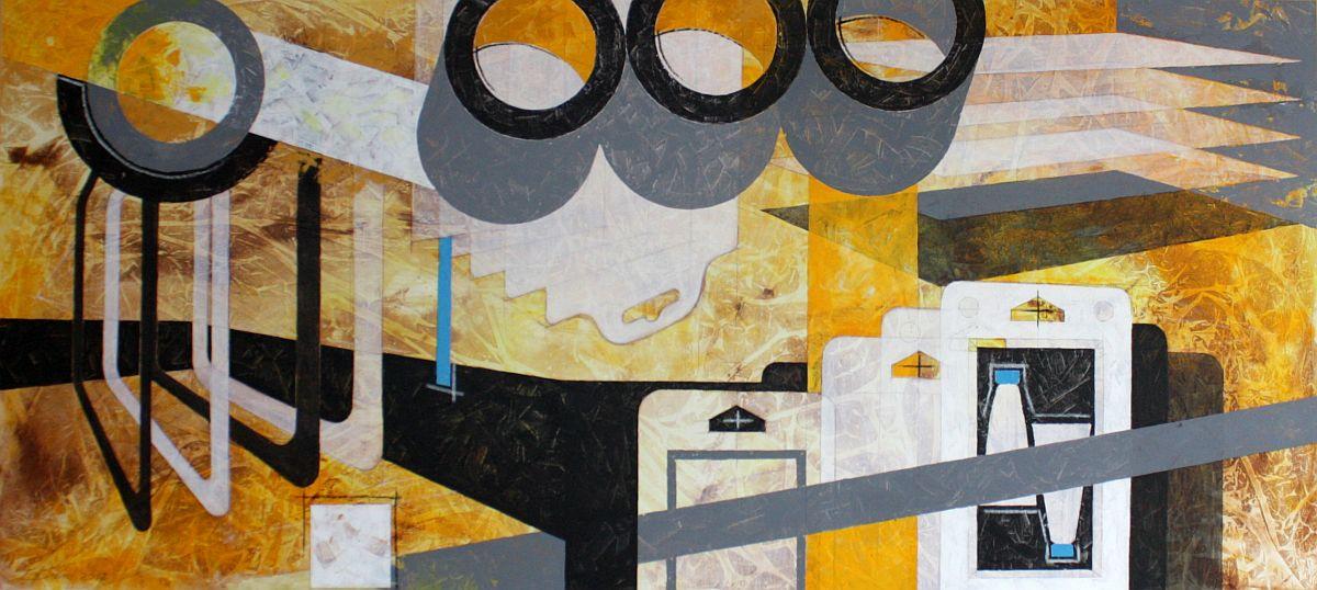 Abstrakte Malerei für Firmen