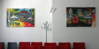 Gemälde für Besprechungszimmer